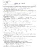 KIỂM TRA 1 TIẾT 12 (CƠ BẢN) doc