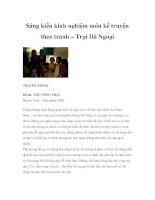 Sáng kiến kinh nghiệm môn kể truyện theo tranh – Trại Dã Ngoại pps