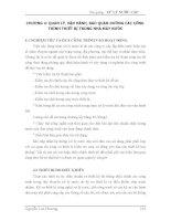 Bài giảng : XỬ LÝ NƯỚC CẤP - QUẢN LÝ, VẬN HÀNH, BẢO QUẢN DƯỠNG CÁC CÔNG TRÌNH THIẾT BỊ TRONG NHÀ MÁY NƯỚC part 1 potx
