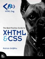 The Best-Practice Guide to xHTML and CSS phần 1 pot