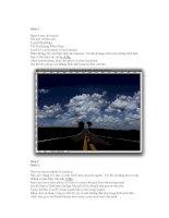 Giáo trình hướng dẫn cách thiết kế lớp nền cho ảnh trong đồ họa Photoshop phần 7 potx