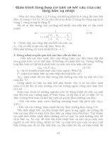 Giáo trình tổng hợp cơ bản về kết cấu của các tầng bức xạ nhiệt phần 1 doc