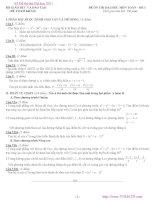 Tuyển tập 63 đề thi môn toán potx