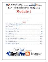 lập trình viên công nghệ java module 3