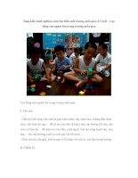Sáng kiến kinh nghiệm môn tìm hiểu môi trường mẫu giáo 4-5 tuổi – Lao động của người lớn trong trường mẫu giáo pptx