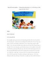 """Sáng kiến kinh nghiệm – """"Những biện pháp giúp trẻ 4- 5 tuổi nâng cao khả năng cảm thụ văn học"""" docx"""