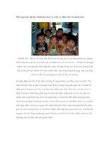 Hiệu quả từ chương trình giáo dục vệ sinh cá nhân cho trẻ mầm non pdf