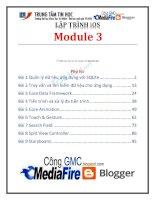 lập trình ios module 3