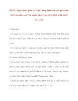 Giáo án Công Nghệ lớp 10: Bài 36 : Thực hành: quan sát triệu trứng, bệnh tích của gà bị mắc bệnh niu cát xơn pot