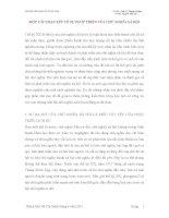 MỘT VÀI NHẬN XÉT VỀ SỰ PHÁT TRIỂN CỦA CHỦ NGHĨA XÃ HỘ1 doc