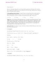 hóa học lớp 12-11 tuyệt chiêu giải nhanh bài toán hóa học pot