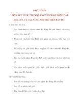 Giáo án Địa Lý lớp 10: THỰC HÀNH NHẬN XÉT VỀ SỰ PHÂN BỐ CÁC VÀNH ĐẠI ĐỘNG ĐẤT ,NÚI LỬA VÀ CÁC VÙNG NÚI TRẺ TRÊN BẢN ĐỒ pptx