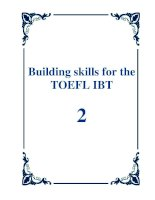 building skills for the toefl ibt second