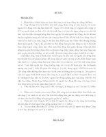 Bài tập học kì Luật Lao Động Đề 6 pps