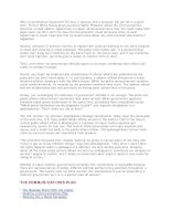 Cẩm nang tổ chức sự kiện - Một văn phòng báo chí có trách nhiệm 2 pptx