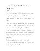 Sinh học lớp 9 - Bài 48: Quần thể người pps