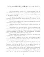 TÀI LIỆU THAM KHẢO VỀ QUỐC TỊCH CỦA MỘT SỐ NƯỚC potx