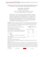 PHƯƠNG PHÁP VÉC-TƠ TRƯỢT-MỘT PHƯƠNG PHÁP HIỆU QUẢ GIẢI CÁC BÀI TOÁN ĐIỆN XOAY CHIỀU RLC KHÔNG PHÂN NHÁNH. pptx