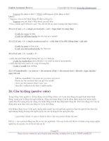English Grammar Review! 15 pptx