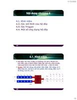 Bài giảng Điện tử số - Chương 4 pptx