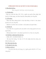 Giáo án Công Dân lớp 12: CÔNG DÂN VỚI CÁC QUYỀN TỰ DO CƠ BẢN(tiết 2) pdf