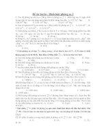 Đề ôn luyện : Định luật phóng xạ 3 ppsx
