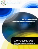 Invitation--Fitness Guangzhou 2012 docx