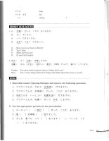 JAPANESE FOR BUSY PEOPLE 3 pps