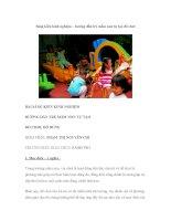 Sáng kiến kinh nghiệm – hướng dẫn trẻ mầm non tự tạo đồ chơi pot