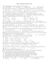 hóa học lớp 12-trắc nghiệm về kim loại potx