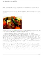 Bí quyết nấu ăn với rượu vang pot