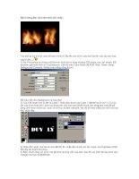 Bài hướng dẫn cách làm chữ bốc cháy ppsx