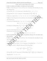 Thiết lập phương trình mặt phẳng ppsx