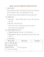 Giáo án Tin Học lớp 8 Ban Tự Nhiên: Bài tập : CHƯƠNG TRÌNH MÁY TÍNH VÀ DỮ LIỆU pps