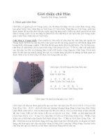 Giới thiệu chữ Hán 1 doc