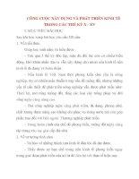 Giáo án Lịch Sử lớp 10: CÔNG CUỘC XÂY DỰNG VÀ PHÁT TRIỂN KINH TẾ TRONG CÁC THẾ KỶ X - XV pot