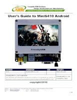 User's Guide to Mini6410 Android ppsx