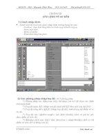 CAD 2D - Chương 3 Các lệnh vẽ cơ bản pdf