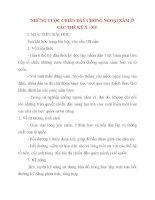 Giáo án Lịch Sử lớp 10: NHỮNG CUỘC CHIẾN ĐẤU CHỐNG NGOẠI XÂM Ở CÁC THẾ KỶ X - XV potx