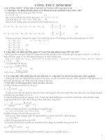 Công thức sinh học 12 ppt
