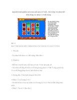 Sáng kiến kinh nghiệm môn toán mẫu giáo 4-5 tuổi – bài 14 dạy trẻ nhận biết điểm đúng các nhóm có 4 đối tượng doc