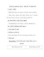 Giáo án sinh học lớp 6 - Bài 50: VI KHUẨN pps