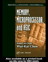 MEMORY, MICROPROCESSOR, and ASIC phần 1 pps