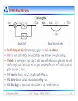 Bài giảng lý thuyết điều khiển tự động - Mô hình toán học, hệ thống điều khiển liên tục part 7 pot
