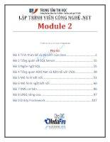 lập trình viên công nghệ.net module 2