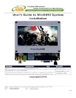 User's Guide to Mini6410 System Installation pps