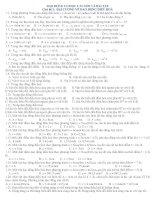 DAO ĐỘNG CƠ HỌC CÂU HỎI VÀ BÀI TẬP Chủ đề 1: ĐẠI CƯƠNG VỀ DAO ĐỘNG ĐIỀU HOÀ pot