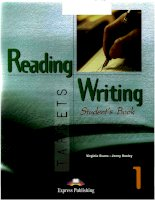 Reading writing target student book potx