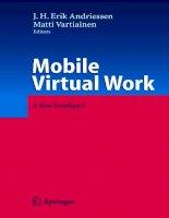 Mobile Virtual Work A New Paradigm phần 1 pot