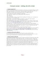 Những vấn đề cơ bản cần biết về domain IP ping FTP telnet